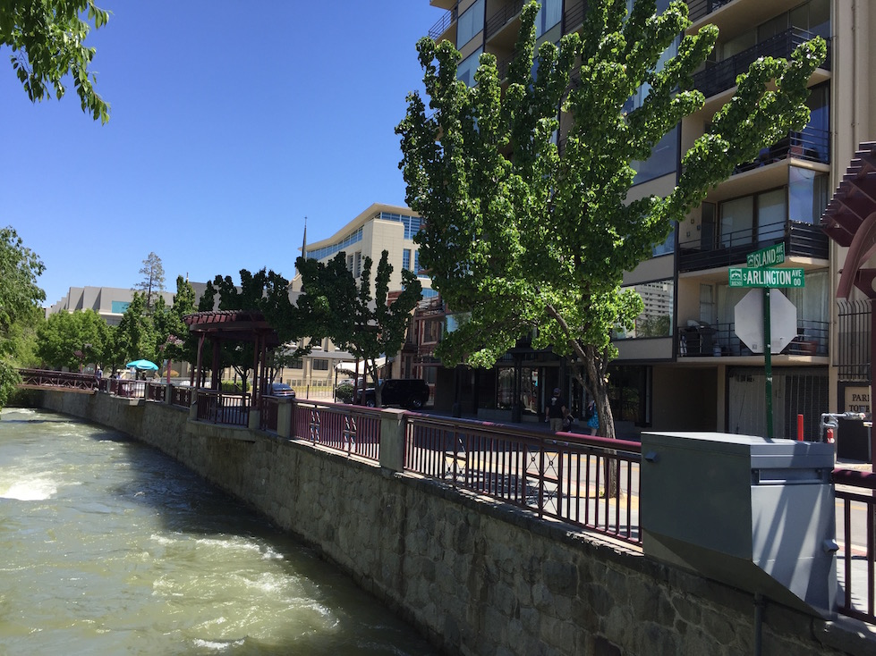 Truckee River in Downtown Reno